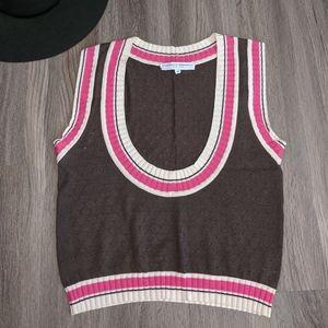 Carolina Herrera Cashmere Sweater Vest Medium